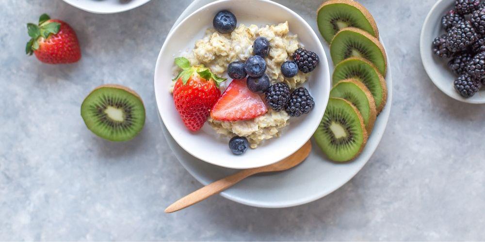 Terci de ovaz cu fructe