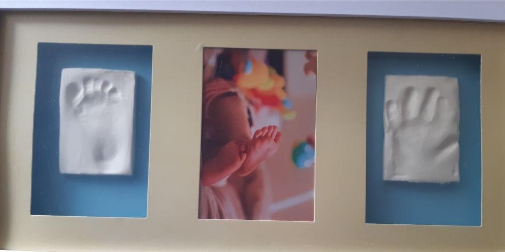 amprenta picior si mana bebe