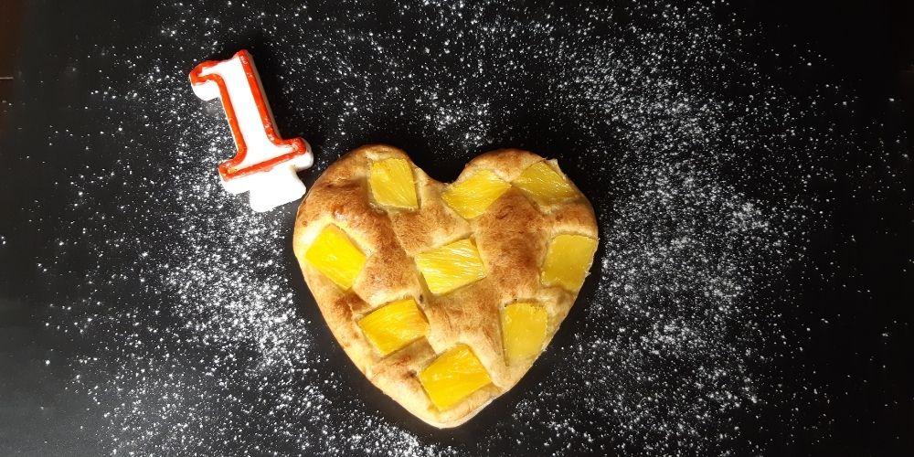 tort cu banane si ananas