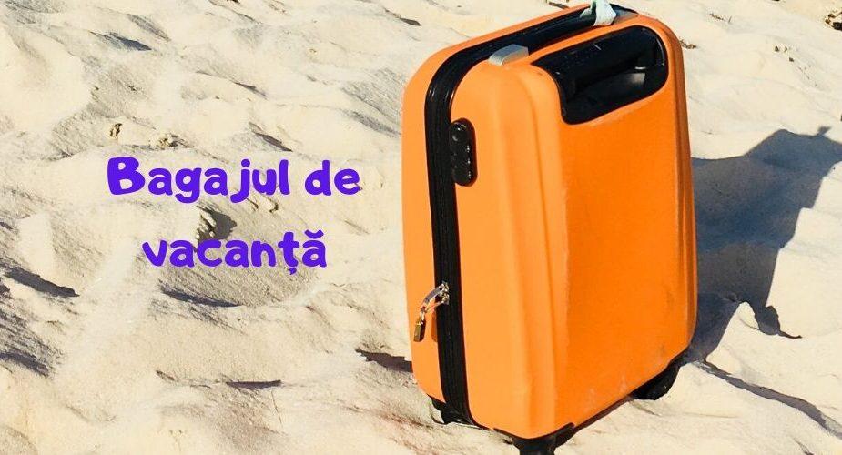 Bagaj portocaliu